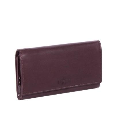 Leather Wallet Brown Vilai