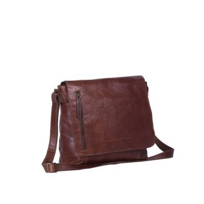 Photo of Leather Shoulder Bag Cognac Maeve