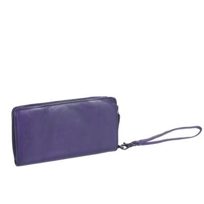 Photo of Leather Wallet Navy Black Label Inga