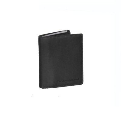 Leather Wallet Black Carl