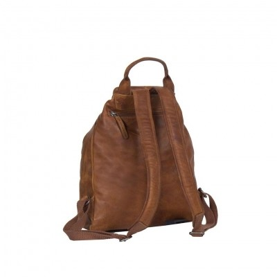 Photo of Leather Backpack Cognac Manchester