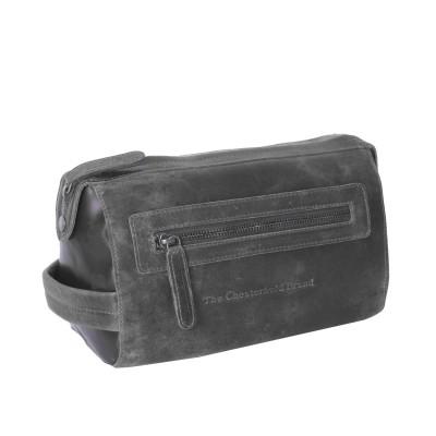 Photo of Leather Toiletry Medium Black Verena
