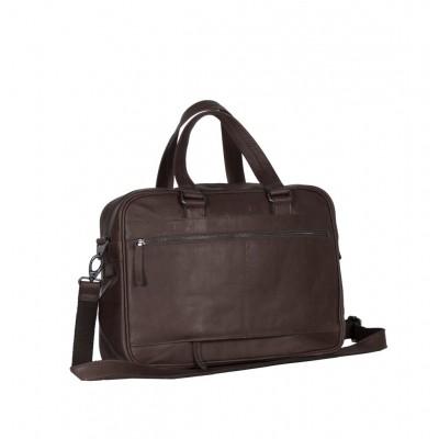 Photo of Leather Laptop Bag Brown Samual