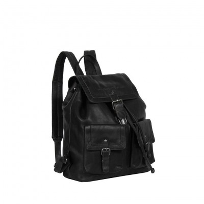 Photo of Leather Backpack Black Joey