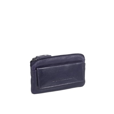 Leather Wallet Navy David