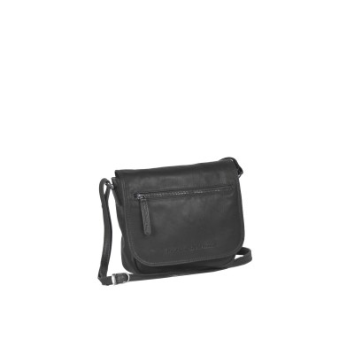 Leather Shoulder Bag Black Coco