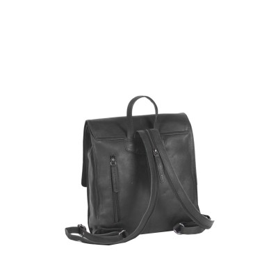 Photo of Leather Backpack Black Isa
