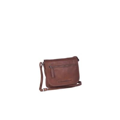 Leather Shoulder Bag Cognac Cis
