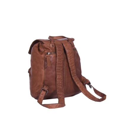 Photo of Leather Backpack Cognac Rose