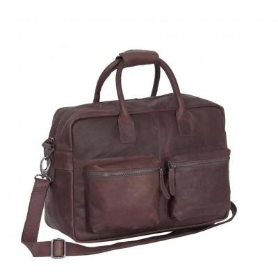 Photo of Leather Shoulder Bag Brown Yasmin