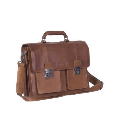 Leather Shoulder bag Cognac Mario