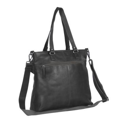 Photo of Leather Shopper Black Cleo