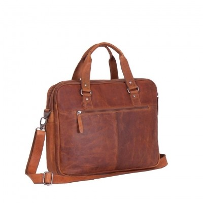 Photo of Leather Laptop Bag Cognac George