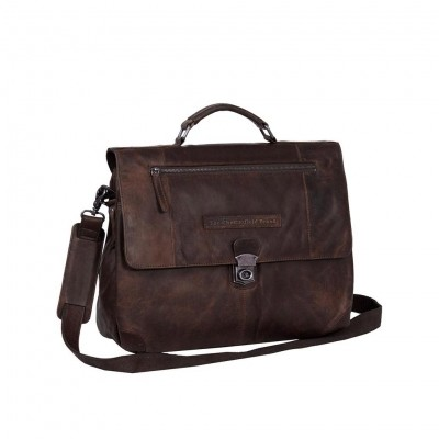 Photo of Leather Briefcase Brown Matthew