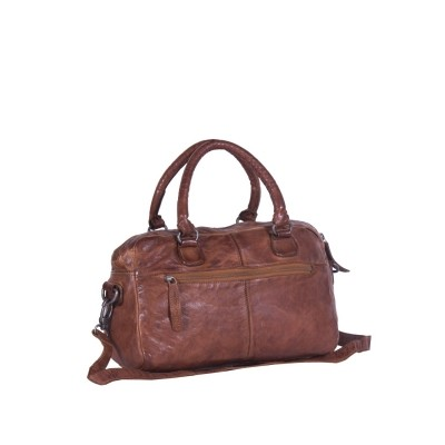 Photo of Leather Shoulder Bag Cognac Rix