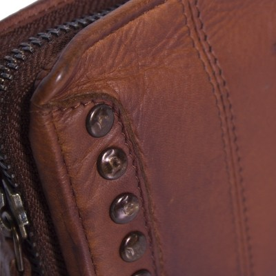 Photo of Leather Clutch Black Label Cognac Laiza
