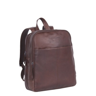 Leather Backpack Brown Dex