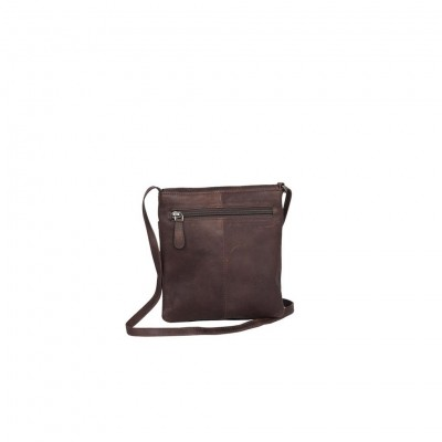 Photo of Leather Shoulder Bag Brown Small August