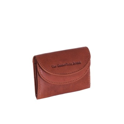 Leather Wallet Small Cognac Alma