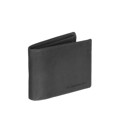 Leather Wallet Black Marion
