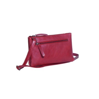 Photo of Leather Shoulder Bag Red Eira