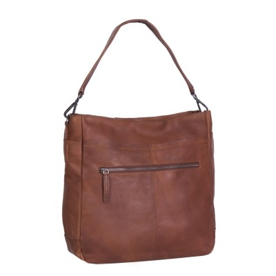 Photo of Leather Tote Bag Cognac Lina