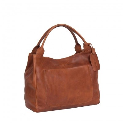Photo of Leather Handbag Cognac Cardiff