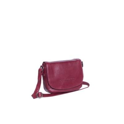 Photo of Leather Shoulder Bag Red June
