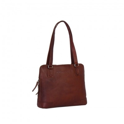 Photo of Leather Shoulder Bag Cognac Manon