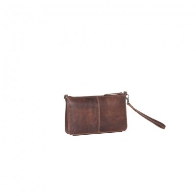Photo of Leather Clutch Cognac Verena