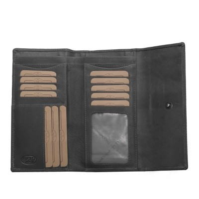 Photo of Leather Wallet Black Dahlia