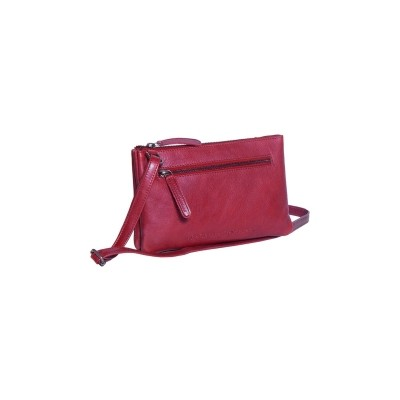 Photo of Leather Shoulder Bag Red Nia