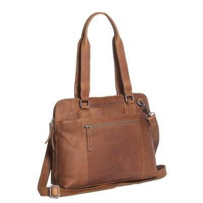 Leather Shoulder Bag Cognac Cara
