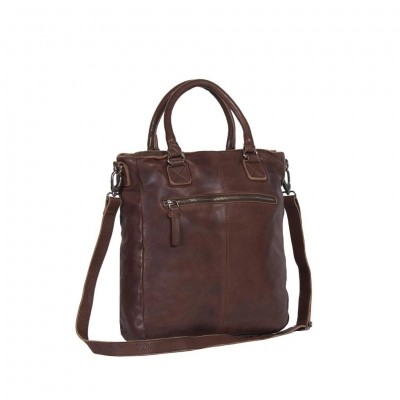 Photo of Leather Tote Bag Brown Harper