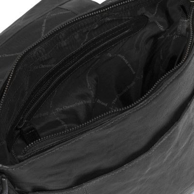 Photo of Leather Shoulder Bag Black Maeve