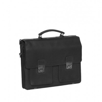 Photo of Leather Briefcase Black Arnold