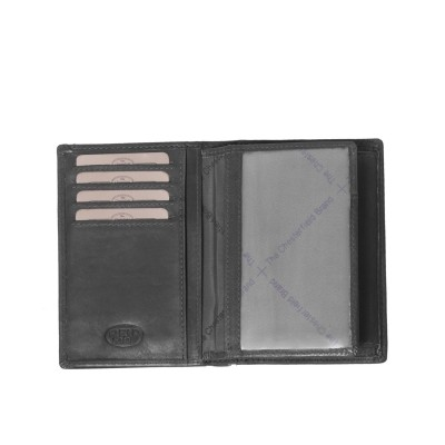 Photo of Leather Wallet Black Siem