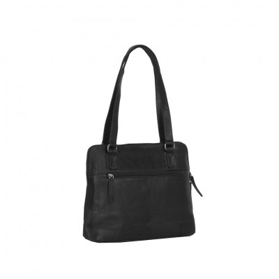 Photo of Leather Shoulder Bag Black Manon