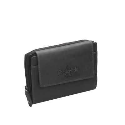 Photo of Leather Wallet Black Ascot