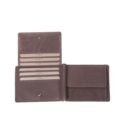Photo of Leather Wallet Brown Dave