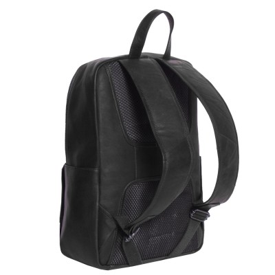 Photo of Leather Backpack T4 Black Thomas Hayo