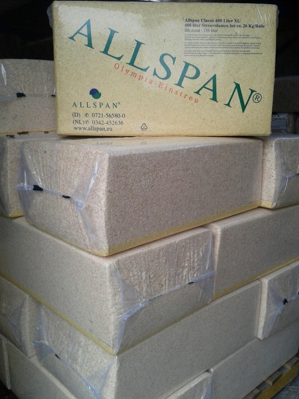 Houtvezels / Houtkrullen Allspan 26kg