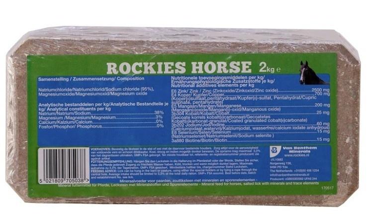 Liksteen Rockie Horse 2kg