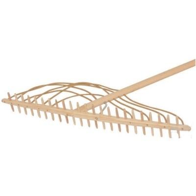 Foto van Hooihark hout Fries model 23 tands met 200cm steel