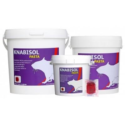 Knabisol Pasta muizen- en rattengif 40X15g) 600 gr