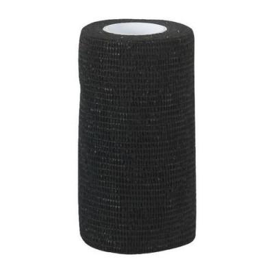Zelfklevende bandage Equilastic 10cm zwart