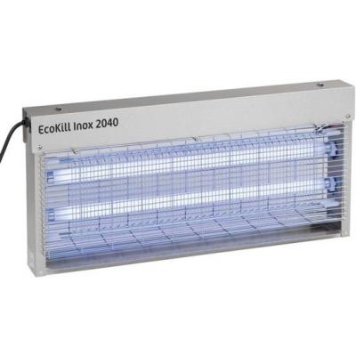 Ecokill inox 2040 elektrische vliegenvanger (2X20Watt)
