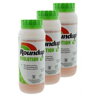 Roundup Evolution 3 x 1ltr
