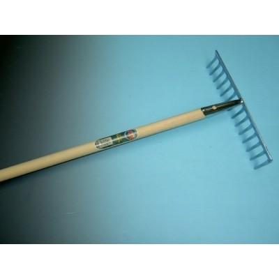 Tuinhark verzinkt 14 tands met steel 150cm