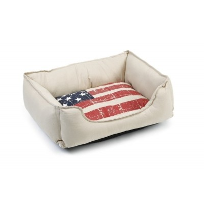 Ligkussen Beeztees kat Stars and Stripes 50X42X18